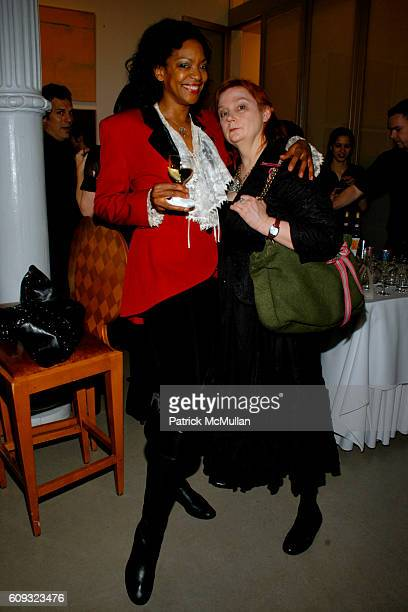 Shailah Edmonds and Lorna Koski attend John McEnroe and Patty Smyth Host Cocktails to Celebrate ROBERT MOLNAR Fall 2007 Menswear Collection at John...