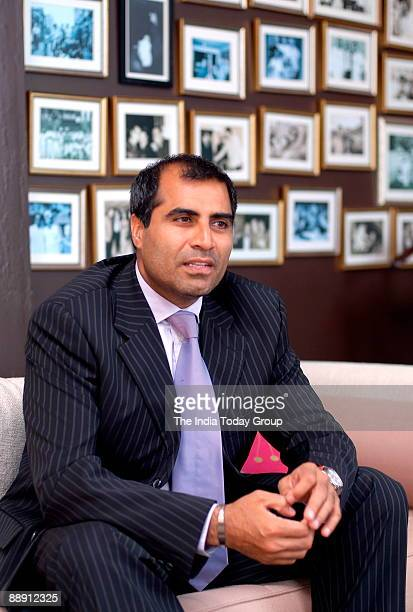 Shailendra Singh Joint Managing Director Percept Holdings poses during interview at office in Mumbai india Potrait Sitting Talking