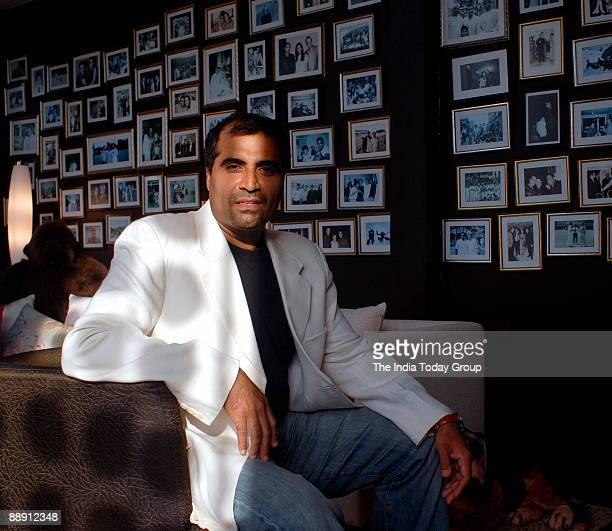 Shailendra Singh Joint Managing Director Percept Holdings poses during interview at office in Mumbai india Potrait Sitting