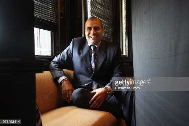 Shailendra Singh Jt MD of Percept picture company during the interview with HT City on May 14 2008 in New Delhi India