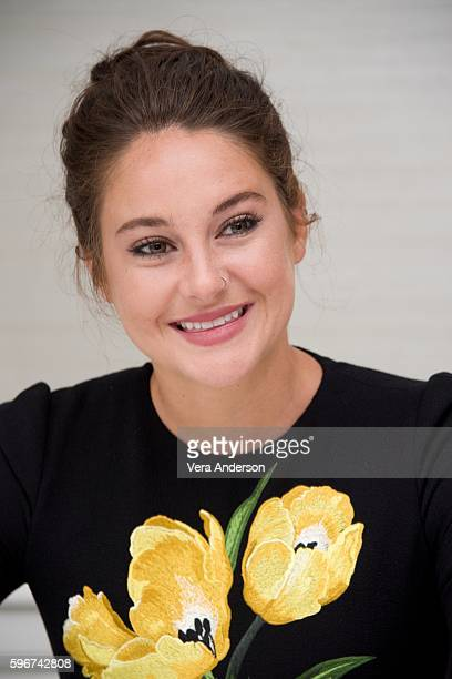 Shailene Woodley at the 'Snowden' Press Conference at the Four Seasons Hotel on August 27 2016 in Beverly Hills California