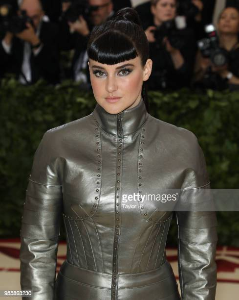 Shailene Woodley attends Heavenly Bodies Fashion the Catholic Imagination the 2018 Costume Institute Benefit at Metropolitan Museum of Art on May 7...