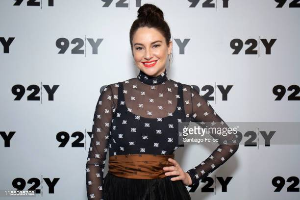 "Shailene Woodley attends 'In Conversation with Glamour's Samantha Barry: ""Big Little Lies"" at 92nd Street Y on June 10, 2019 in New York City."