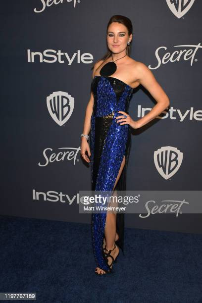 Shailene Woodley attends The 2020 InStyle And Warner Bros. 77th Annual Golden Globe Awards Post-Party at The Beverly Hilton Hotel on January 05, 2020...