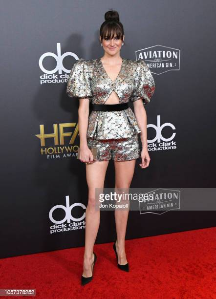 Shailene Woodley attends the 22nd Annual Hollywood Film Awards at The Beverly Hilton Hotel on November 4 2018 in Beverly Hills California