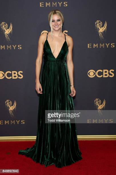 Shailene Woodley attends the 69th Annual Primetime Emmy Awards at Microsoft Theater on September 17 2017 in Los Angeles California