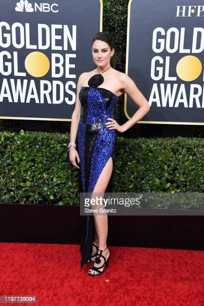 Shailene Woodley attends the 77th Annual Golden Globe Awards at The Beverly Hilton Hotel on January 05, 2020 in Beverly Hills, California.