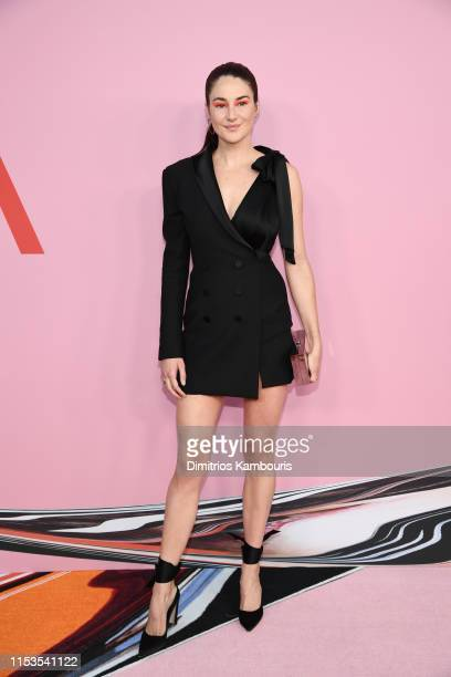 Shailene Woodley attends the CFDA Fashion Awards at the Brooklyn Museum of Art on June 03 2019 in New York City