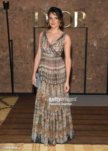 Shailene Woodley attends the Christian Dior Couture S/S20 Cruise Collection on April 29, 2019 in Marrakech, Morocco.