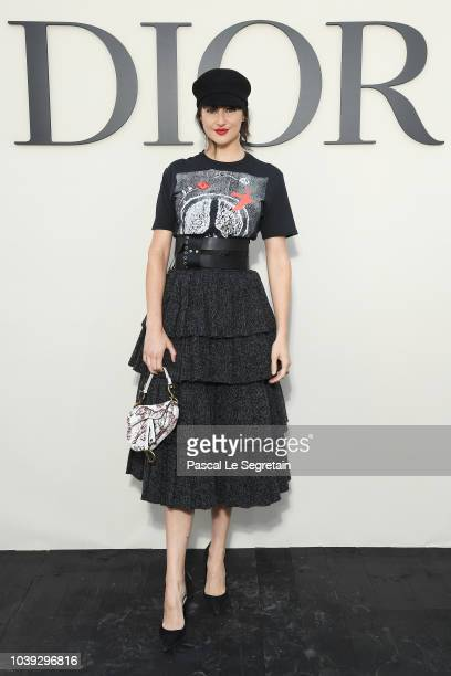 Shailene Woodley attends the Christian Dior show as part of the Paris Fashion Week Womenswear Spring/Summer 2019 on September 24 2018 in Paris France