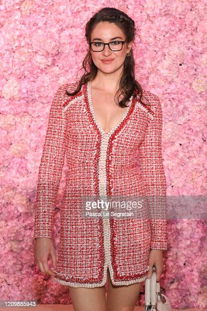 Shailene Woodley attends the Giambattista Valli show as part of the Paris Fashion Week Womenswear Fall/Winter 2020/2021 on March 02, 2020 in Paris,...