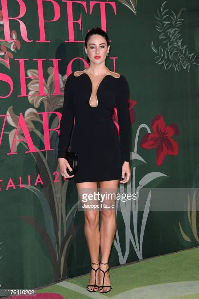 Shailene Woodley attends the Green Carpet Fashion Awards during the Milan Fashion Week Spring/Summer 2020 on September 22, 2019 in Milan, Italy.