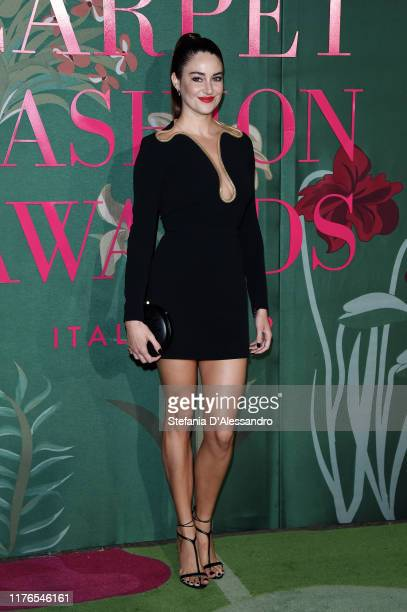 Shailene Woodley attends the Green Carpet Fashion Awards during the Milan Fashion Week Spring/Summer 2020 on September 22 2019 in Milan Italy