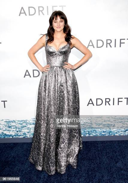 Shailene Woodley attends the premiere of 'Adrift' at Regal LA Live Stadium 14 on May 23 2018 in Los Angeles California