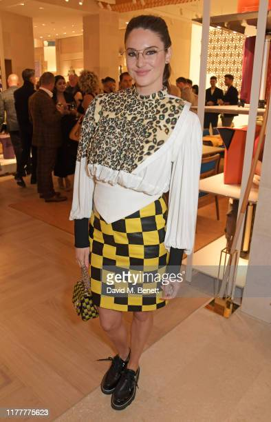 Shailene Woodley attends the re-opening of the Louis Vuitton New Bond Street Maison on October 23, 2019 in London, England.