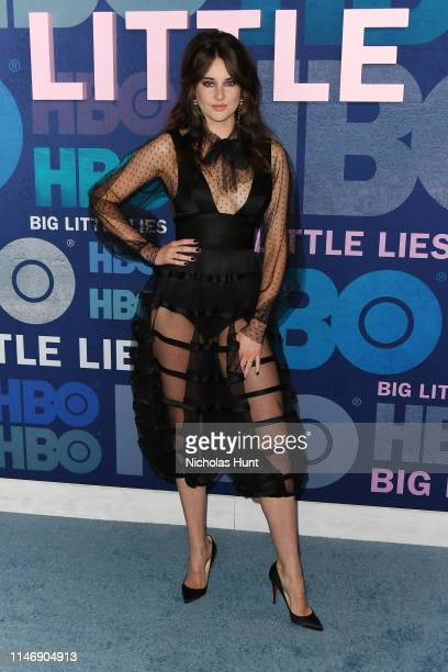 "Shailene Woodley attends the season 2 premiere of ""Big Little Lies"" at Jazz at Lincoln Center on May 29, 2019 in New York City."