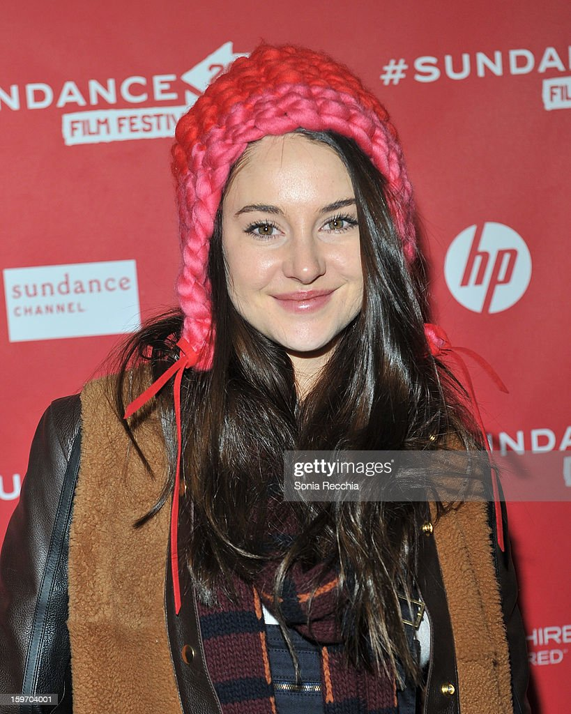 Shailene Woodley attends 'The Spectacular Now' premiere at Library Center Theater during the 2013 Sundance Film Festival on January 18, 2013 in Park City, Utah.