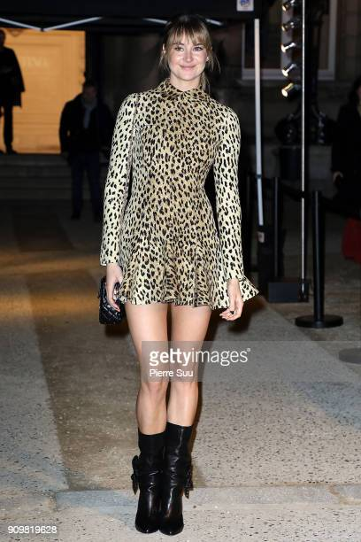 Shailene Woodley attends the Valentino Haute Couture Spring Summer 2018 show as part of Paris Fashion Week on January 24 2018 in Paris France