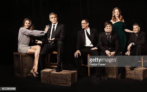 Shailene Woodley, George Clooney, Matthew Lillard, Nick Krause, Judy Greer and Robert Foster.