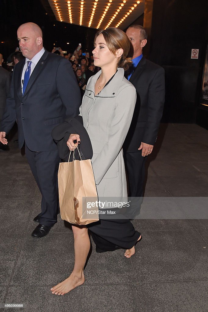 Celebrity Sightings In New York City - March 16, 2015 : News Photo