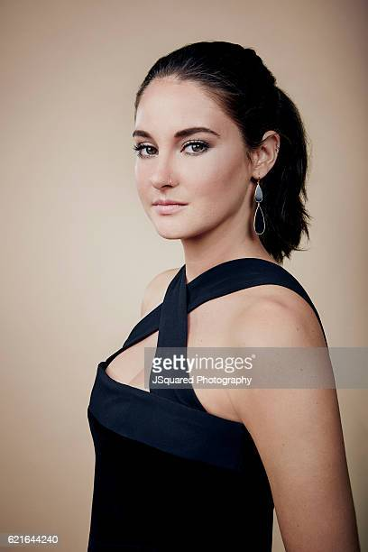 Shailene Woodley poses for a portraits at the Environmental Media Association 26th Annual EMA Awards Presented By Toyota Lexus and Calvert...