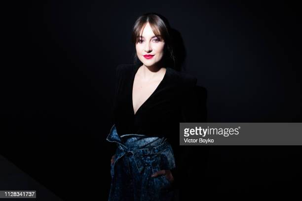 Shailene Woodley the Balmain show as part of the Paris Fashion Week Womenswear Fall/Winter 2019/2020 on March 1, 2019 in Paris, France.