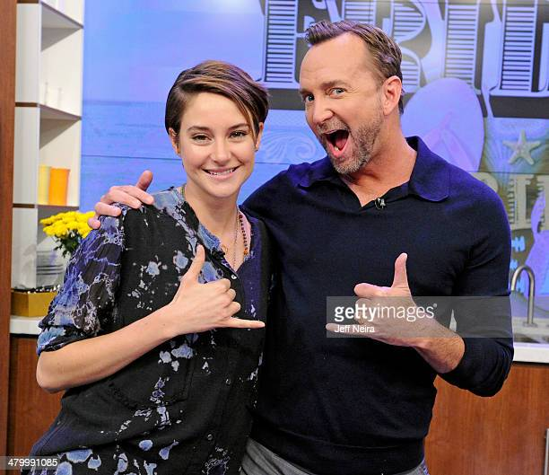THE CHEW Shailene Woodley whips up a dish with Clinton Kelly new mom Daphne Oz checks in with her fellow cohosts on Skype and shares the latest news...