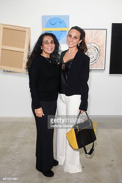 Shaimt Schwartz and Alexis Schwartz attend The Rema Hort Mann Foundation LA Artist Initiative Benefit Auction on November 21 2013 in Los Angeles...
