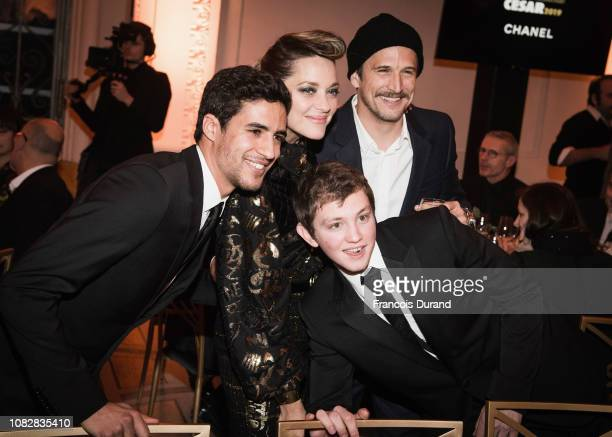 Shain Boumedine Marion Cotillard Guillaume Canet and Anthony Bajon attend the 'Cesar Revelations 2019'Ê at Le Petit Palais on January 14 2019 in...