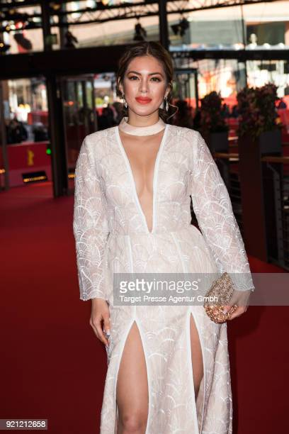 Shaina Magdayao attends the 'Season of the Devil' premiere during the 68th Berlinale International Film Festival Berlin at Berlinale Palast on...