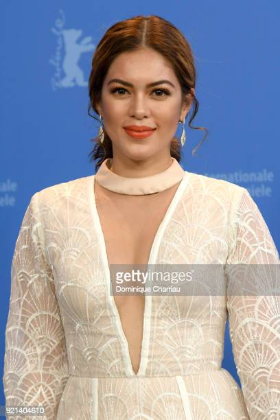 Shaina Magdayao poses at the 'Season of the Devil' photo call during the 68th Berlinale International Film Festival Berlin at Grand Hyatt Hotel on...