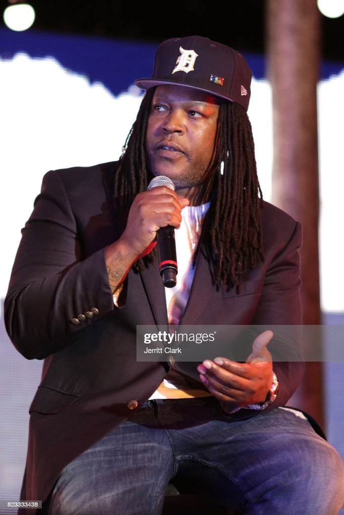 Shaka Senghor speaks during VAN JONES WE RISE TOUR powered by #LoveArmy at Hollywood Palladium on July 26, 2017 in Los Angeles, California.