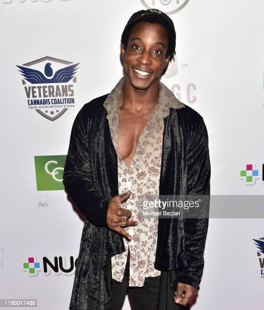 Shaka Smith arrives at 2019 Heroes' Harvest on December 19 2019 in Los Angeles California