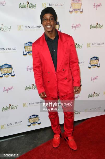 Shaka Smith arrives at The Benjamin Crump Awards at The Venue of Hollywood on January 16 2020 in Hollywood California