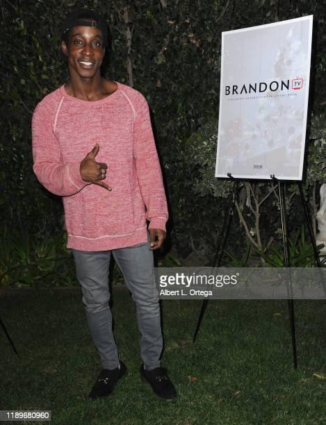 Shaka Smith arrives for Viacom's Brandon TV Christmas gala and studio launch held on December 20 2019 in Burbank California