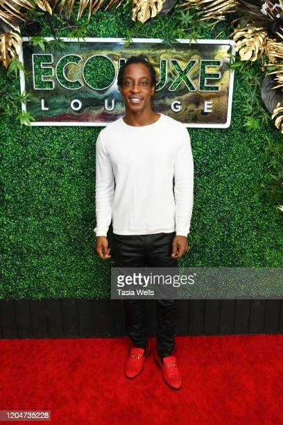 Shaka Smith attends Debbie Durkin's EcoLuxe Lounge Honoring Film Award Nominees 2020 at The Beverly Hilton Hotel on February 07 2020 in Beverly Hills...