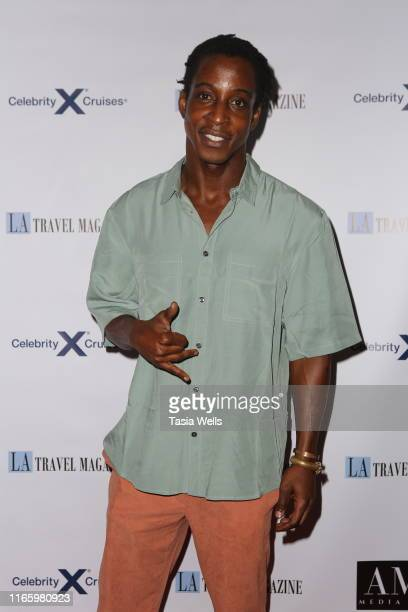 Shaka Smith attends Los Angeles Travel Magazine's Endless Summer Issue Release Party at Penthouse on August 02, 2019 in West Hollywood, California.