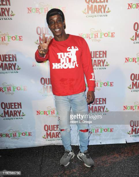 Shaka Smith attends Media And VIP Night Queen Mary Christmas held at The Queen Mary on December 6 2019 in Long Beach California