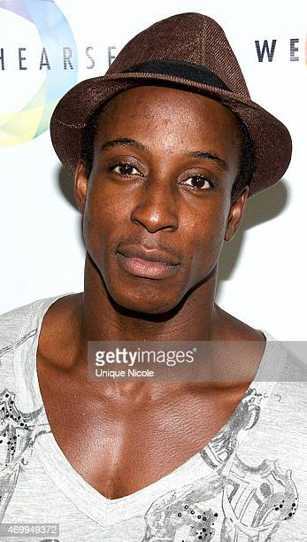 Shaka Smith attends Red Carpet Premiere And Launch Party For WeRehearse at Vaucluse Lounge on April 15 2015 in West Hollywood California