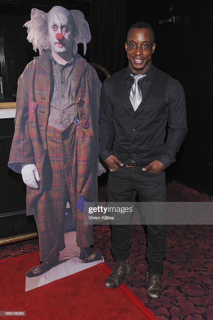 Shaka Smith attends 'Stitches' - Los Angeles Premiere at Cinespace on April 1, 2013 in Los Angeles, California.