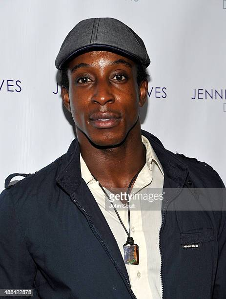 Shaka Smith attends the Jennifer Reeves Designs PreEmmy Awards Party at The Golden Box on September 15 2015 in Hollywood California