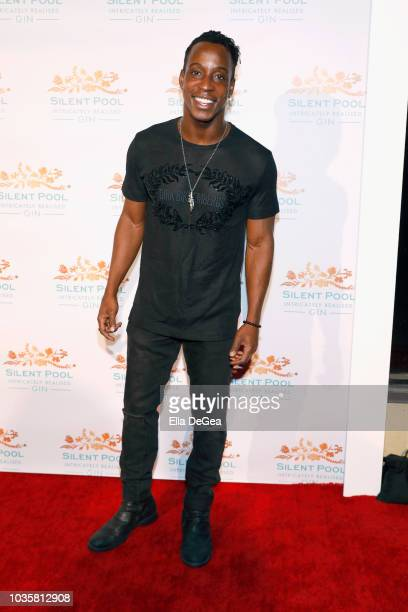Shaka Smith attends the Silent Pool Gin Launch Party at Tom Tom on September 18 2018 in West Hollywood California
