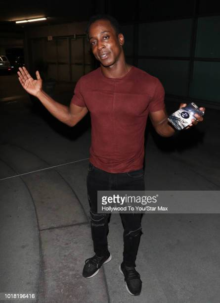 Shaka Smith is seen on August 16 2018 in Los Angeles CA