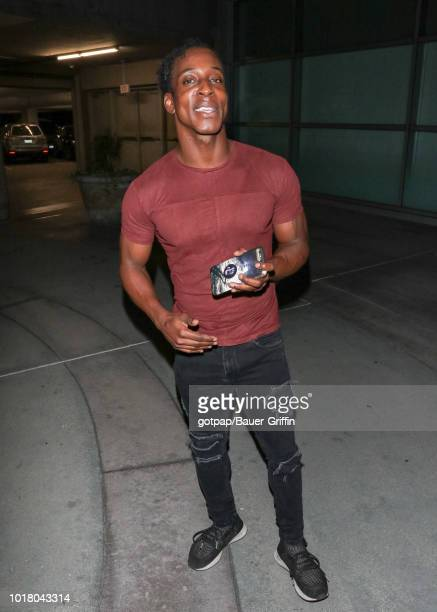Shaka Smith is seen on August 16 2018 in Los Angeles California