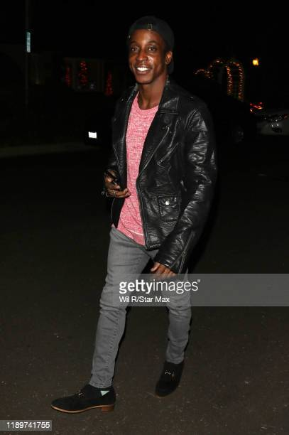 Shaka Smith is seen on December 20 2019 in Los Angeles California