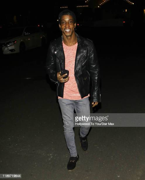 Shaka Smith is seen on December 20 2019 in Los Angeles