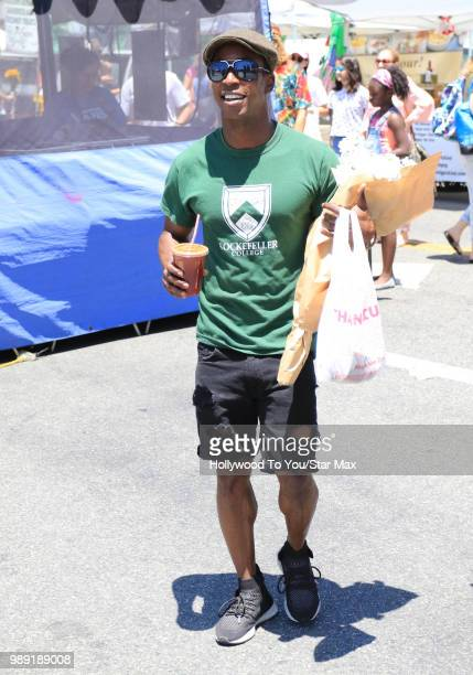 Shaka Smith is seen on July 1 2018 in Los Angeles California