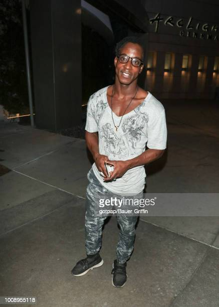 Shaka Smith is seen on July 31 2018 in Los Angeles California
