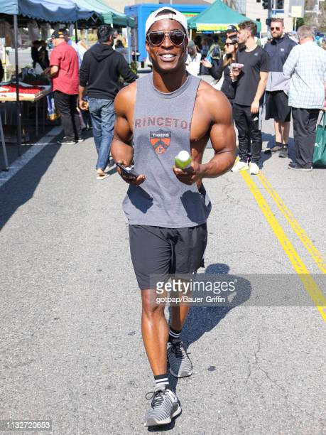 Shaka Smith is seen on March 24 2019 in Los Angeles California