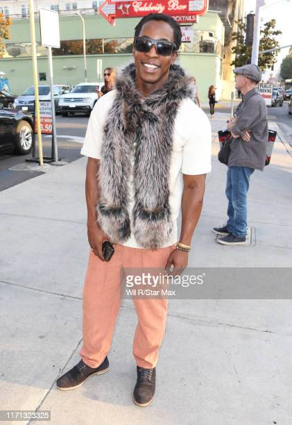 Shaka Smith is seen on September 25 2019 at Los Angeles